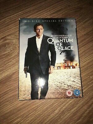 Quantum Of Solace (2 Disc Special Edition)(Dvd)(Ex Cond)