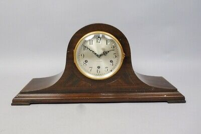 Antique Seth Thomas Westminster Chime Mahogany Mantel Clock No. 124