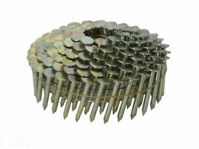 """Suregrip CRC114 1-1/4""""x0.12 15 Deg Wire Coil Electro Galv Roofing Nail 7200/ CTN"""