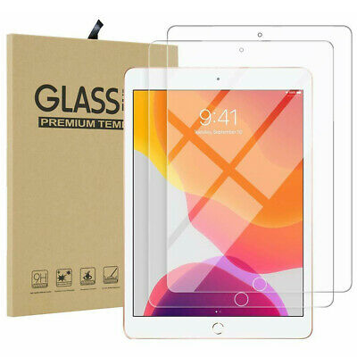 """Tempered Glass Screen Protector For iPad 10.2"""" 9.7"""" 7th 6th 5th Gen 234 Air Pro"""