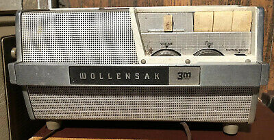 VINTAGE 3m Wollensak Stereo Magnetic Tape Recorder