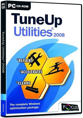 TuneUp Utilities 2008 (PC CD) BRAND NEW SEALED