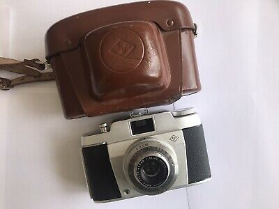(Overall Mint/tested)Agfa Silette 35mm Film Camera