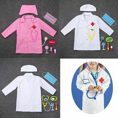 Ex ELC Doctor Costume Boys//Girls Outfit Book Day Fancy Dress Outfit