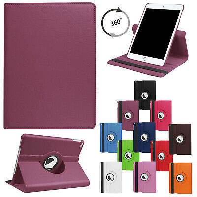 For iPad 10.2 2019 (7th Generation) Flip Leather Case Rotating Stand Smart Cover