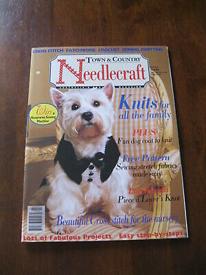 Town & Country Needlecraft: Issue 4: Inc: Dog Coat to Knit   Preloved