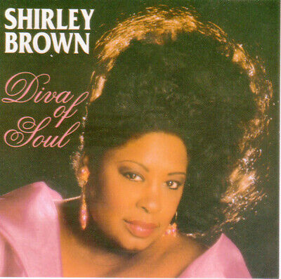 SHIRLEY BROWN -  DIVA OF SOUL - CD ALBUM our ref 1746