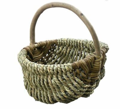 Red Hamper Small Millie Sea Grass Shopping Basket