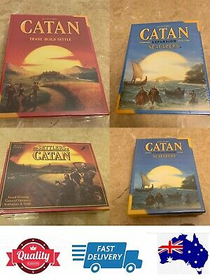 Settlers of Catan 5th, 4th edition, Seafarers Expansion and 5-6 Player Expantion