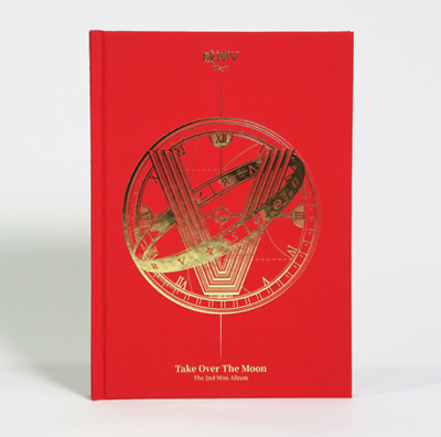 "WayV New 2nd Album "" Take Over The Moon "" Official - 1 Photobook + 1 CD"