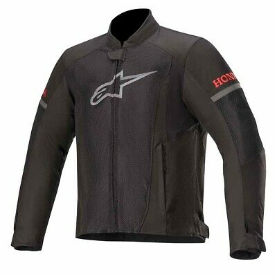 NEW Alpinestars Official Honda T-Faster Air Mesh Textile Sports Motorcycle Jacke