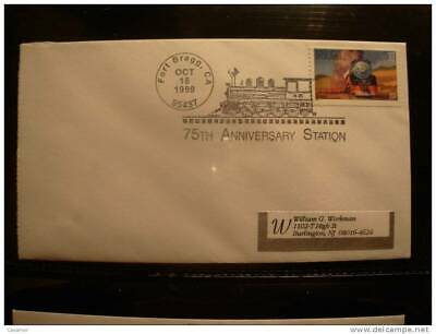 USA 75 Anv Station Fort Bragg 1999 Matasellos Cancel Cover Sobre Enveloppe