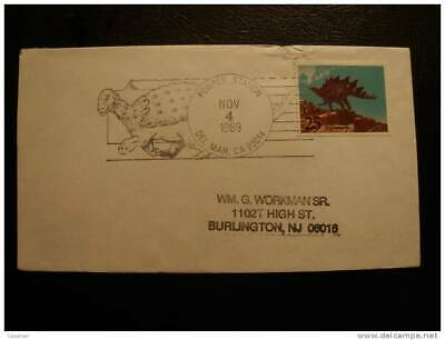 USA  Dinosaurio Dino Special Cancel Cover Sobre Enveloppe