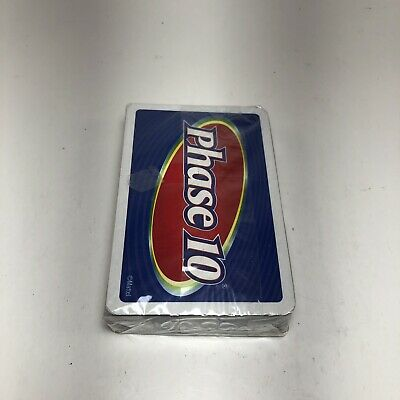 Phase 10 Card Game - Brand New- Still In Plastic