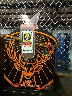 Jagermeister Jemus Three Bottle Shot Dispenser Chiller Tap Machine 07/B14241A
