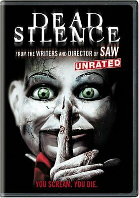 Dead Silence (DVD, 2007, Unrated Widescreen Edition) NEW