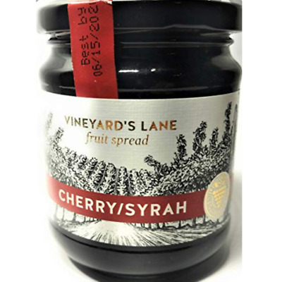 VINEYARD'S LANE CHERRY/SYRAH VINE FRUIT SPREAD, 8.5 oz GOURMET