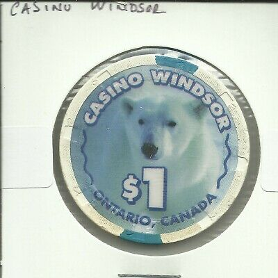 $1 Casino Windsor Chip - Canada