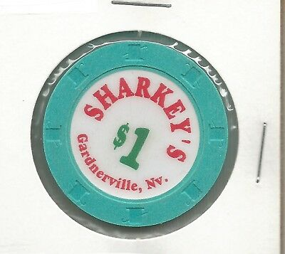 $1 Sharkeys Chip- Gardnerville, Nevada