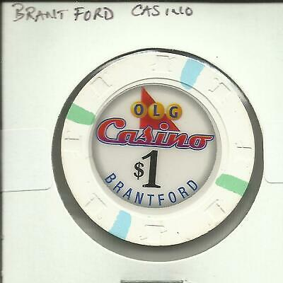 $1 Brantford Casino  Chip- Canada