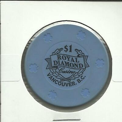 $1 Royal Diamond Casino Chip- Canada