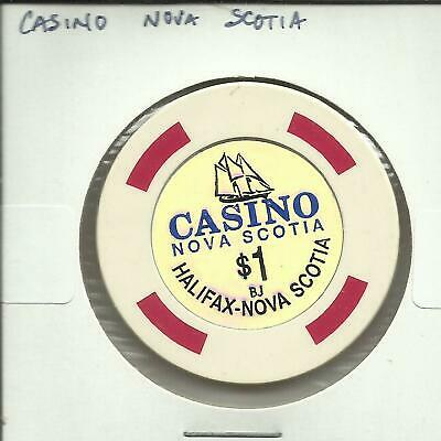 $1 Casino Nova Scotia Casino Chip- Canada