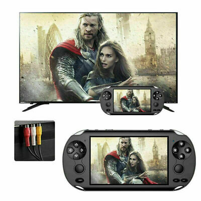 128 Bit Built In 1000+Game Kids Player Portable X9 Handheld Video Game Console