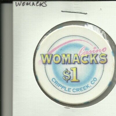 $1 Womacks  Casino Chip- Colorado