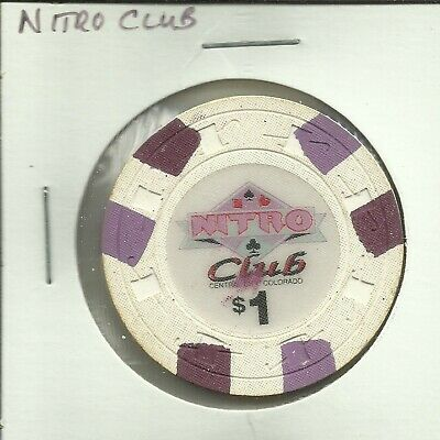 $1 Nitro Club Casino Chip- Colorado