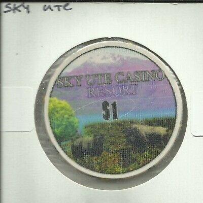 $1 Sky Ute Casino Chip- Colorado