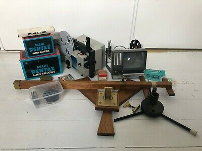 Vintage Photographic and Super 8mm Film Equipment