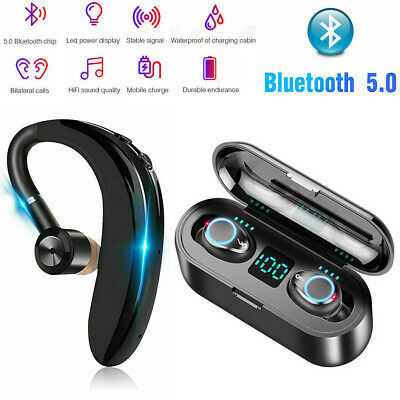 Bluetooth 5.0 Earbuds Wireless Earphones TWS Stereo HD Touch Headphones Headset