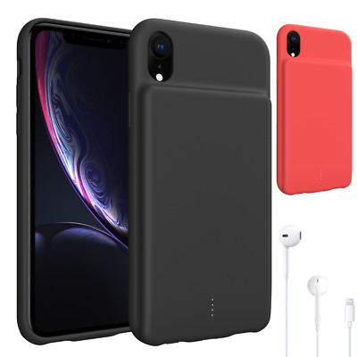 For iPhone XR/XS Max Extended Battery Charger Case Power Bank Charging Pack