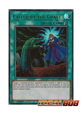YUGIOH x 1 Called by the Grave - DUDE-EN044 - Ultra Rare - 1st Edition Near Mint