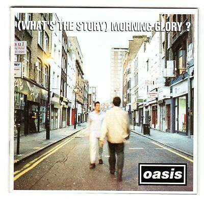 Oasis - What's The Story Morning Glory  UK 12 Track CD 1995 Creation Records  EX