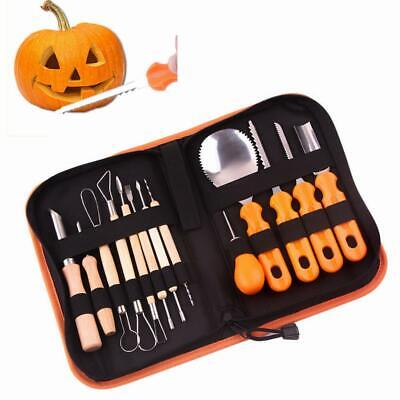 13Pcs Professional Halloween Pumpkin Carving Kit Pumpkin Making Modelling  Tools
