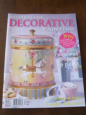 Australian Decorative Painting: Vol. 13 No. 9(2006):Sweet Carousel : Preloved