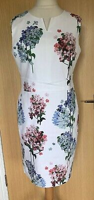Phase Eight Ladies Dress 16 Occasion Hydrangas Summer Smart Races Day Holiday