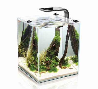 Aquael Crevettes Set LED 20 L Garnelenbecken Aquarium Complet 25x25x30 CM