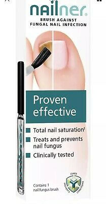 NAILNER Brush Nail Fungus Anti Fungal Infection Treatment PROVEN EFFECTIVE 5ML