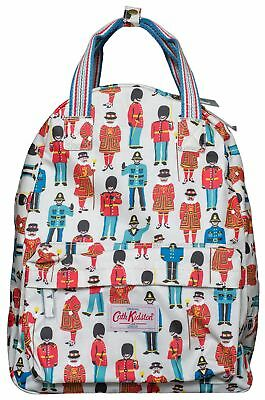Cath Kidston backpack with hanging loop guards and friends cream