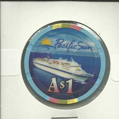 $1 Pacific   Cruise Lines Chip