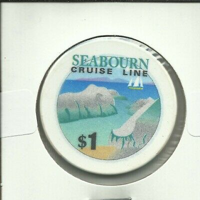 $1 Seaborn Cruise Lines Chip