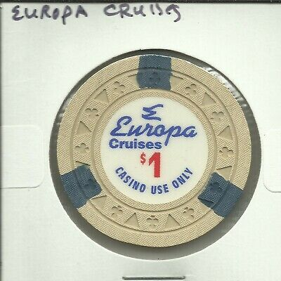 $1 Europa  Cruise Lines Chip