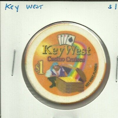 $1 Key West  Cruise Lines Chip
