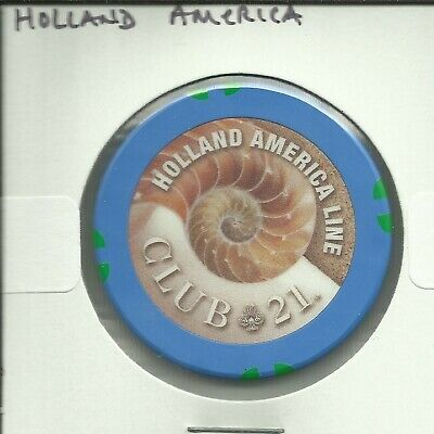 $1 Holland America  Cruise Lines Chip