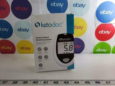 Keto-Doc Advanced Ketone Blood Meter Kit - Monitor Your Ketones With Accuracy