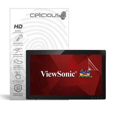 Celicious Vivid ViewSonic TD2740 Invisible Screen Protector [Pack of 2]