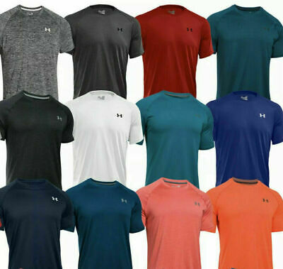 Under Armour Men's T-shirt Heat Gear crew neck For Training Gym Sports Running