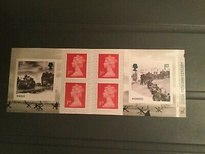 2019 D-DAY STAMP BOOKLET Cylinder PM67